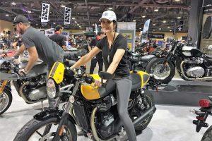 Shauna Lupcho of Moto-Skiveez USA