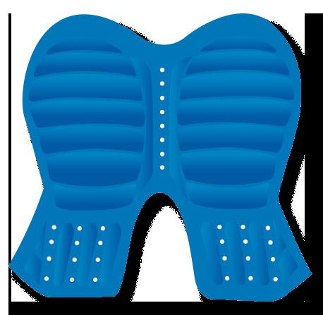 Moto-Skiveez ADVENTURE pad layers