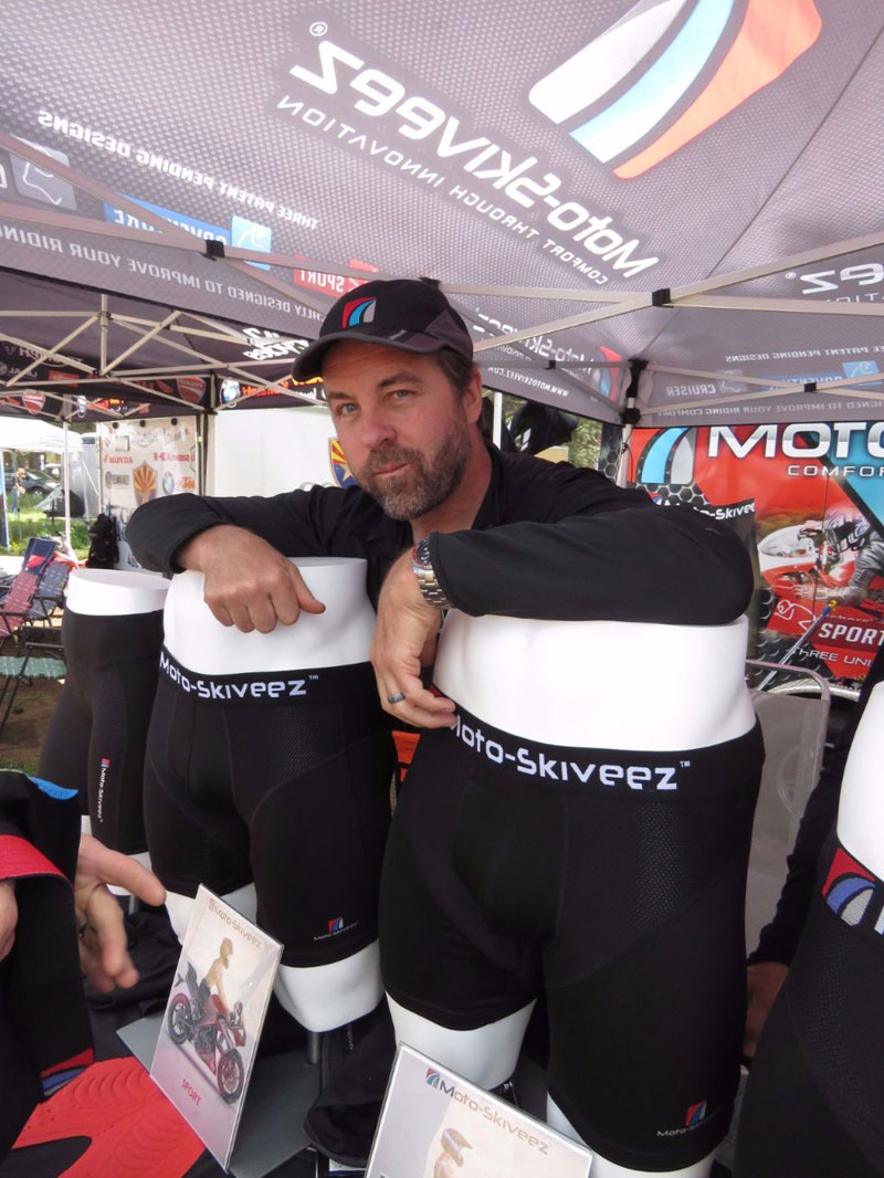 Shawn Lupcho creator of Moto-Skiveez®