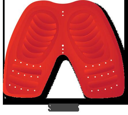 Moto-Skiveez SPORT pad for the sport bike style