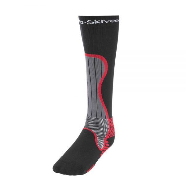 Motorcycle Performance Compression Riding Sock Front