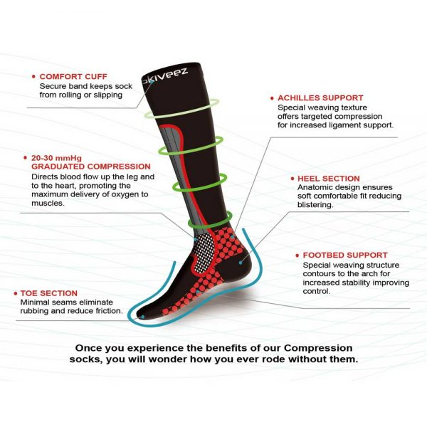 How the Performance Compression Riding Sock Works