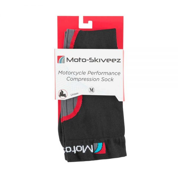Motorcycle Performance Compression Riding Sock Packaging