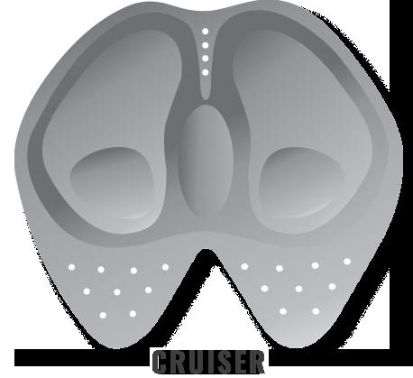 Moto-Skiveez CRUISER style pad